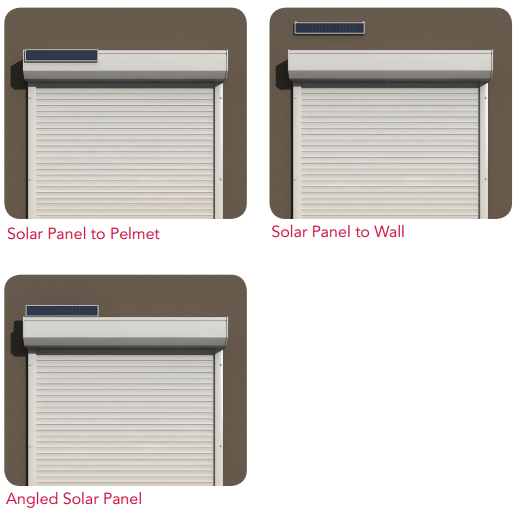 Three Solar Panel Options